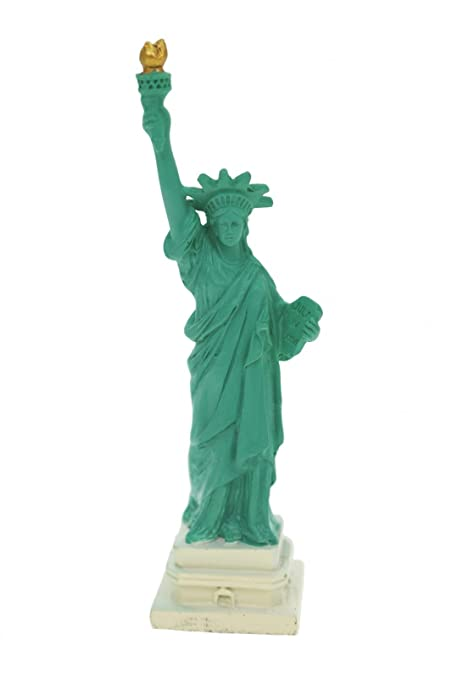 Estatua De La Libertad New York Statue Of Liberty 10 Cm Figura - Escultura-decorativa