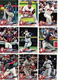 Cleveland Indians/Complete 2018 Topps Series 1 & 2 Baseball 26 Card Team Set! Includes 25 bonus Indians Cards!