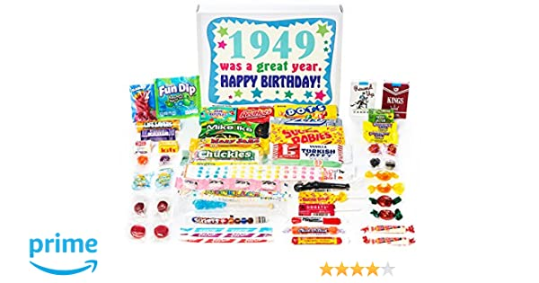 Amazon Woodstock Candy 1949 70th Birthday Gift Box Of