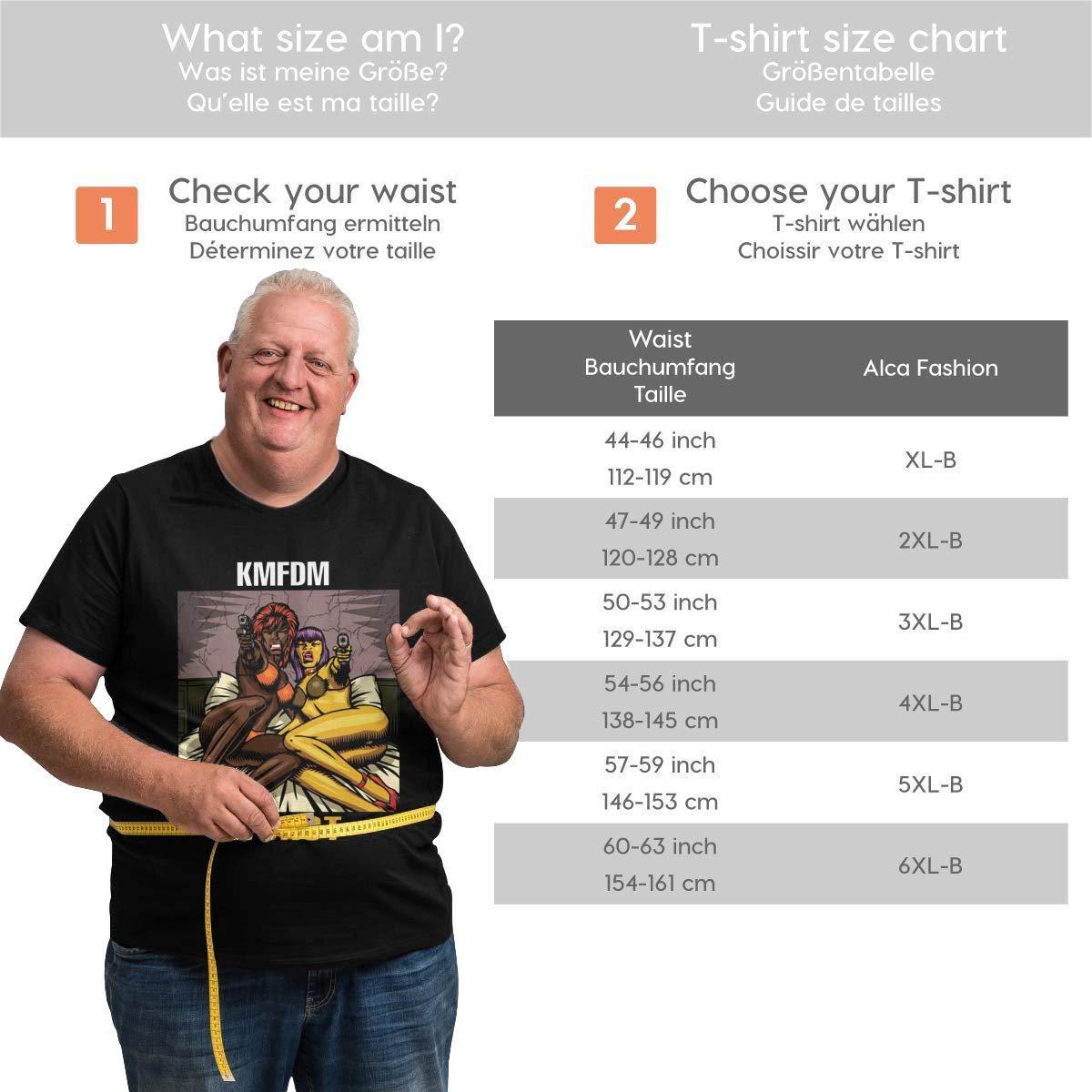 TicTicTok KMFDM Wurst Mens Big Size T-Shirt Black