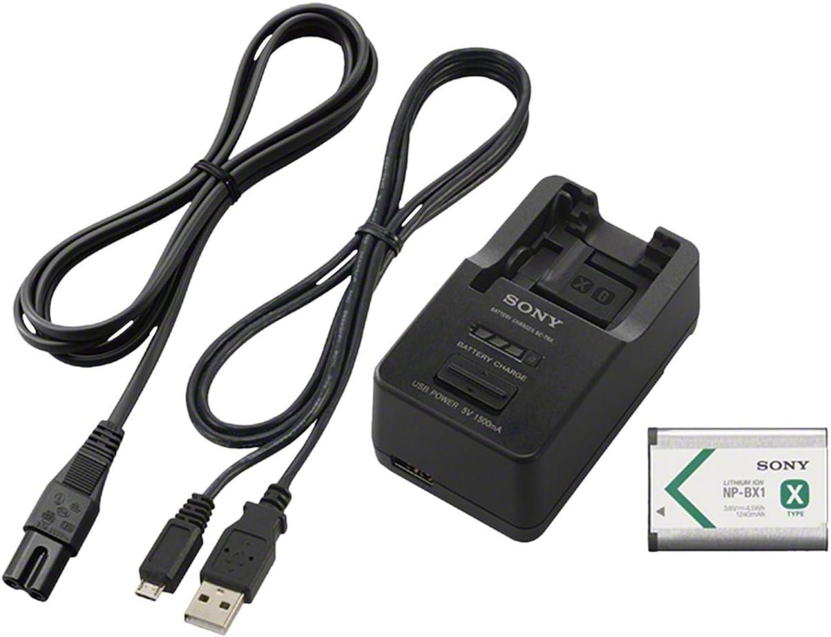 Sony ACCTRBX - Juego de Batería NP-BX1 y Cargador BC-TRX ...