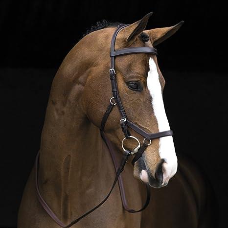 Horseware Rambo Micklem Competition Bridle daek Havana (Standard Horse)