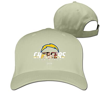 Custom Unisex-Adult Joey Bosa 2016 Draft Chargers Summer Hats Natural 1a21bd88e45