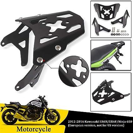 FATExpress Motocicleta Negro Aluminio Equipaje ...