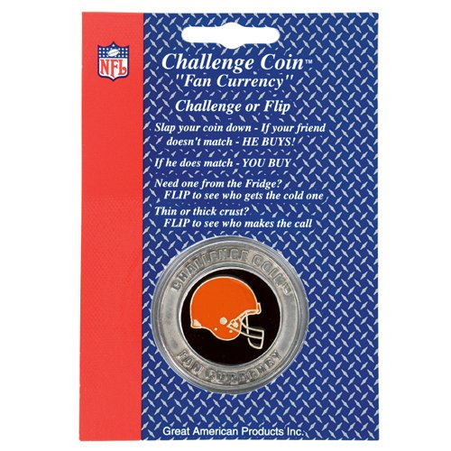 Cleveland Browns NFL Challenge Coin/Lucky Poker Chip
