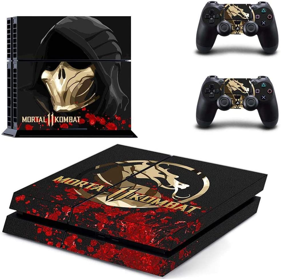 Amazon.com: Playstation 4 Skin Set - Mortal Kombat 11 HD ...