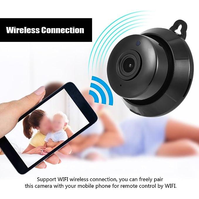 Zerone HD Wireless Home Security Cámara, WiFi Vigilancia IP 720P ...