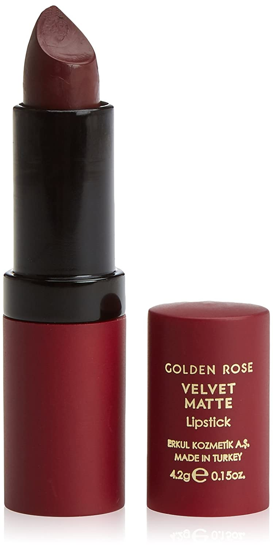 golden rose velvet matte lippenstift matt farbe 23 ebay. Black Bedroom Furniture Sets. Home Design Ideas