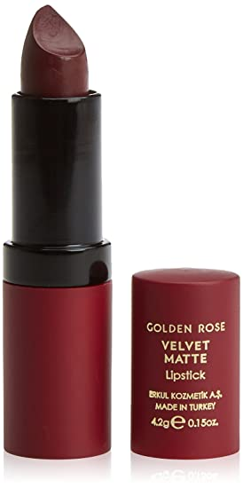 Golden Rose Velvet Matte Lipstick 11 Cerise Violet