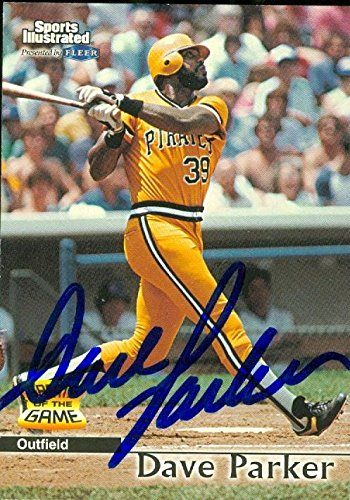Dave Parker autographed Baseball Card (Pittsburgh Pirates) 1999 Fleer Sports Illustrated #39 - Autographed Baseball Cards ()