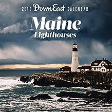2019 Maine Lighthouses Down East Wall Calendar
