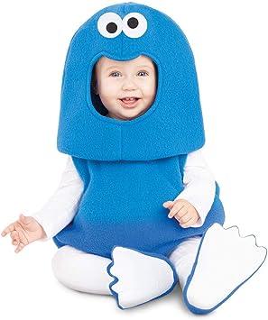 Barrio Sésamo Disfraz Ancho de Monstruo de Las Galletas para bebé ...