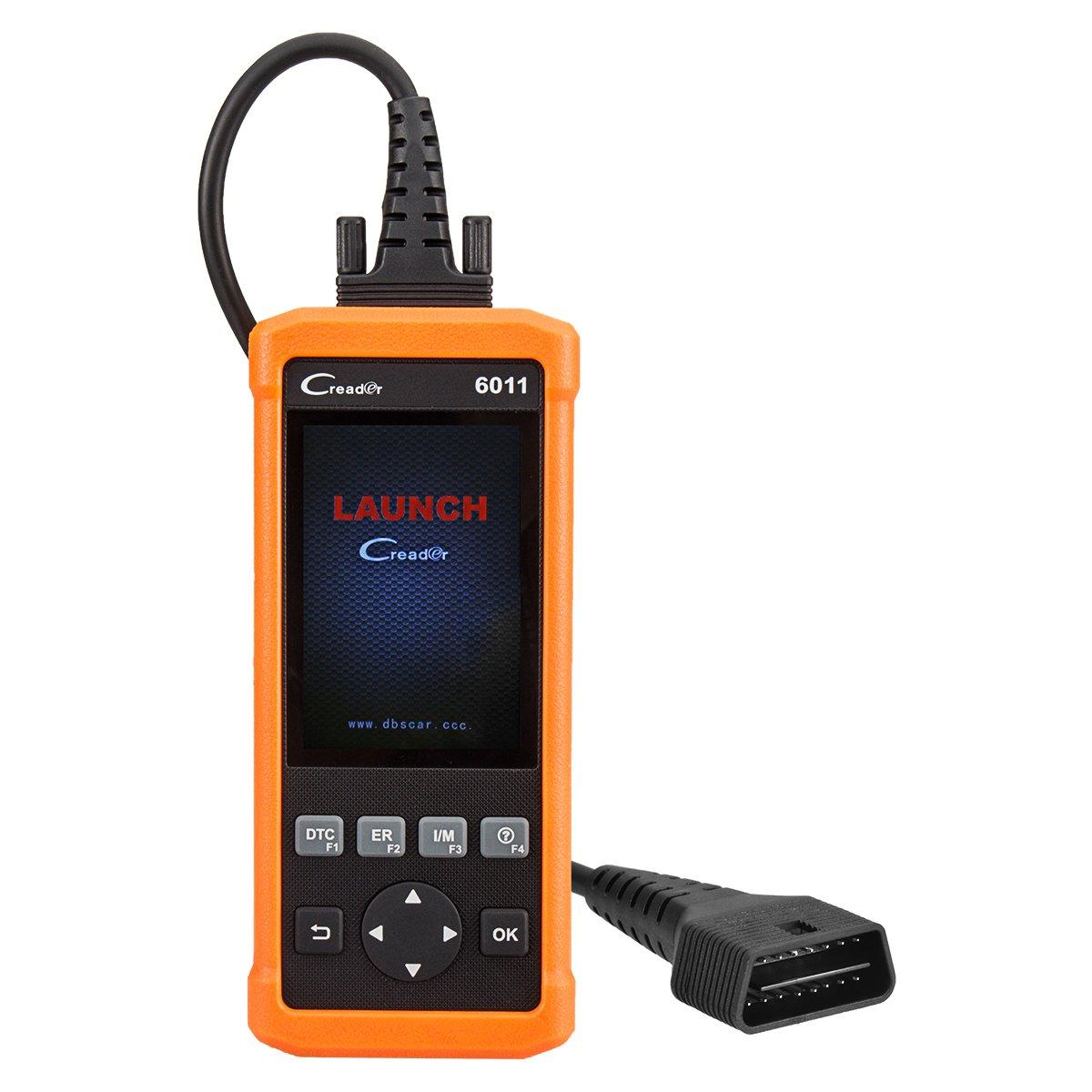 自動車診断機 Launch Creader 6011 OBDⅡ/EOBDスキャナー 車コードリーダー OBD2車両のABS&SRS診断機能を備えた自動診断スキャンツール【保障付】 B075KGNNM3   CR6011