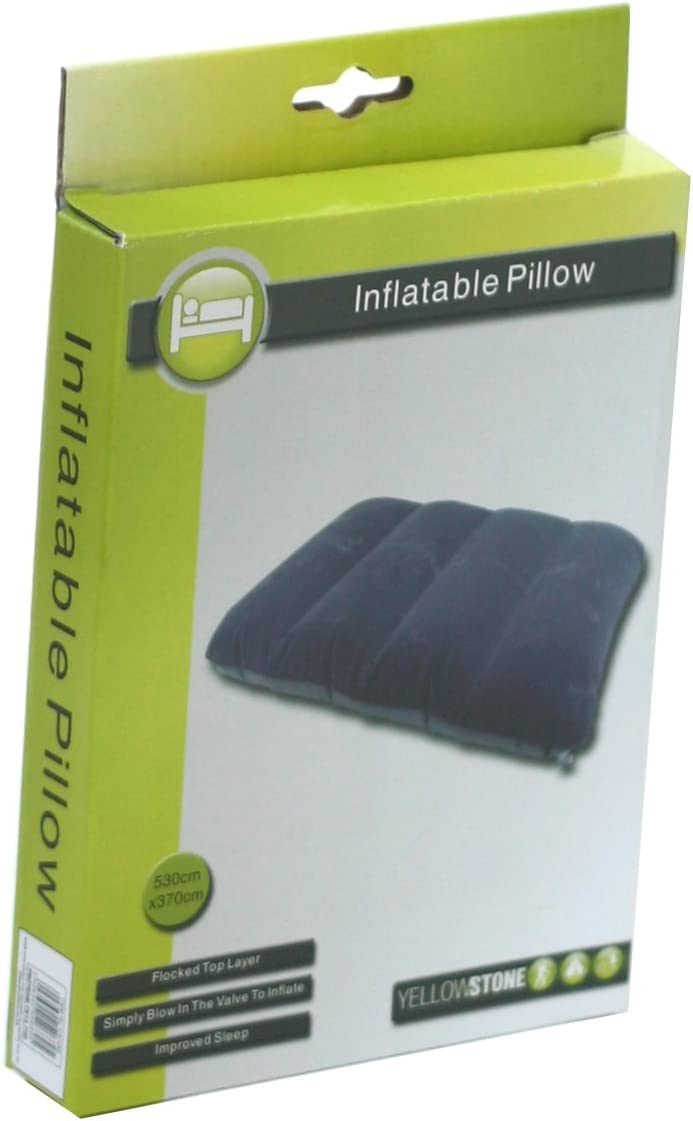 Blue Yellowstone Inflatable Camping Pillow