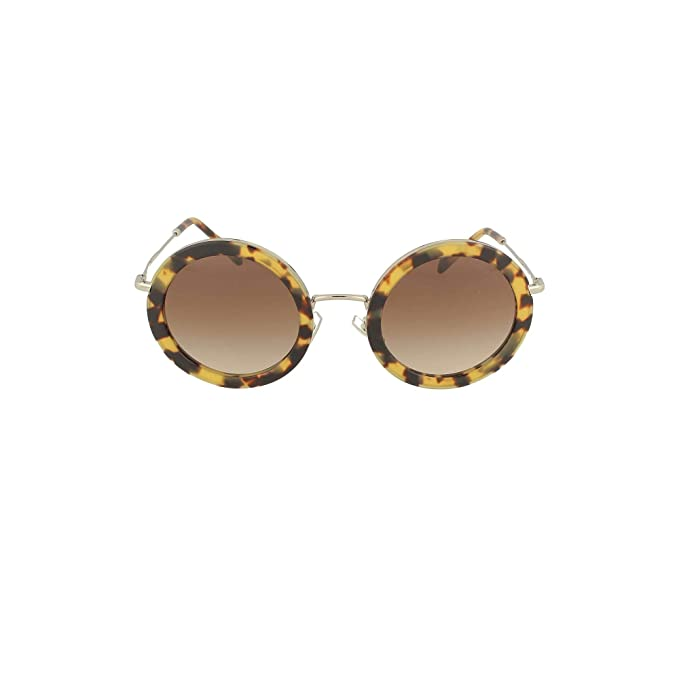 Gafas de Sol Miu Miu RING SMU 59U BLONDE HAVANA/BROWN SHADED ...