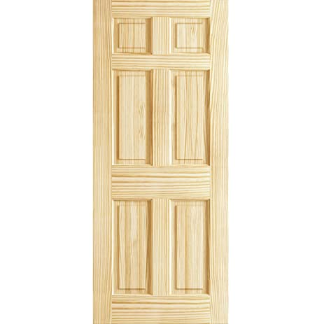 Awesome 6 Panel Door Interior Slab Solid Pine (30x80) Sc 1 St Home Design Ideas  sc 1 st  pezcame.com & Panel Door \u0026 Steel Wooden Panel Door Sc 1 St Steel Door