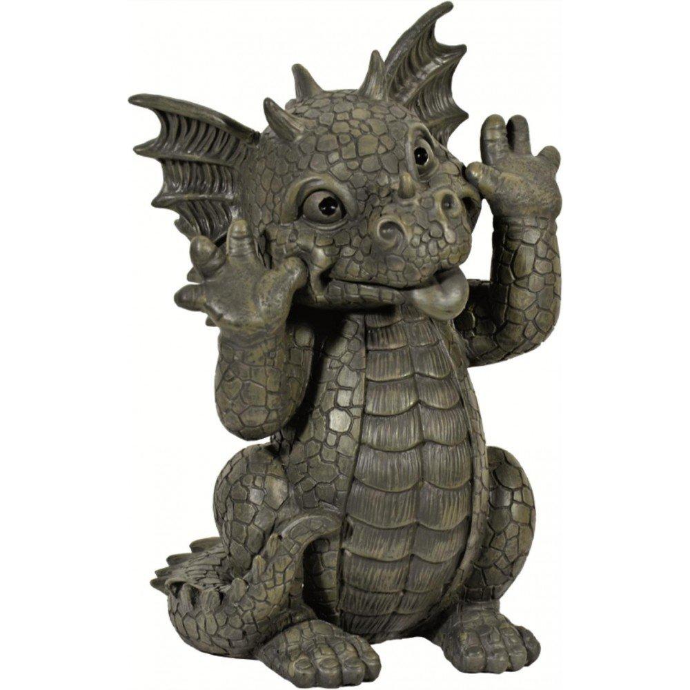 Garden figure Garden dragon Pulling Faces Mayer Chess