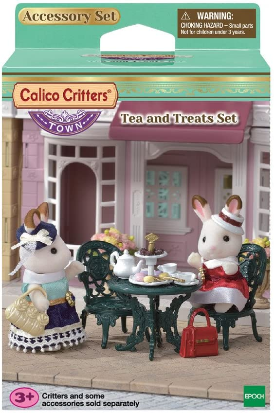 Calico Critters Doll House Furniture Town Series Furniture Sets Calico Critters Chic Dining Table Set