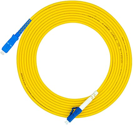 30M LC//PC to SC//PC,Duplex,SingleMode,Optical Fiber Cable Patch Cord Jumper LC-SC