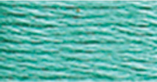 DMC Seis Hilos Bordado algodón Hilo, Medio Verde, 8.7-Yard, Pack ...