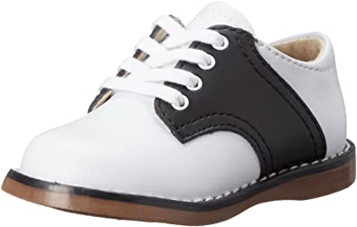 FOOTMATES Cheer Laceup Saddle White