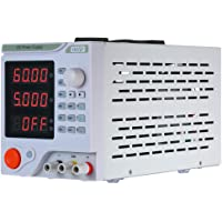 KKmoon Fuente de alimentación 0-60V 0-5A 4 dígitos