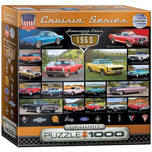 EuroGraphics 1960s Cruisin' Classics Jigsaw Puzzle (Small Box) (1000-Piece)