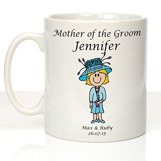 Personalised Mother Of The Groom Mug Wedding Gifts Party Gift Ideas