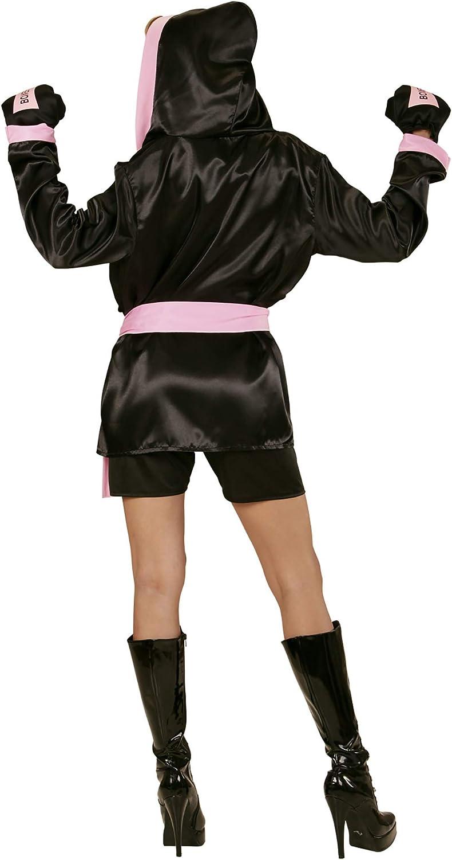 WIDMANN 73962 - adulto boxeador traje, Top, corto, abrigo con ...