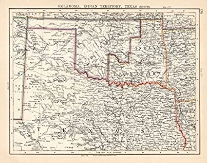 Amazon.com: USA SOUTH CENTRAL. Oklahoma, Indian Territory ... on religion maps of texas, antique nevada map, railroad map in texas, rare maps of texas, decorative maps of texas, antique alaska map, ancient maps of texas, antiques in texas, blue maps of texas, on a map of ja ranch texas, historical maps of san antonio texas, large print road maps texas, antique show round top texas, antique show round top map, rustic maps of texas, charts of texas, agriculture maps of texas, vintage texas, printable maps north texas,