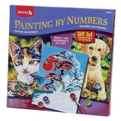 (Reeves Painting By Numbers Gift Set)