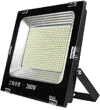200W Foco Proyector LED Exterior, IP66 A Prueba de Agua Luces ...