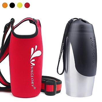 Amazon.com: Vivaglory Botella de agua de acero inoxidable ...