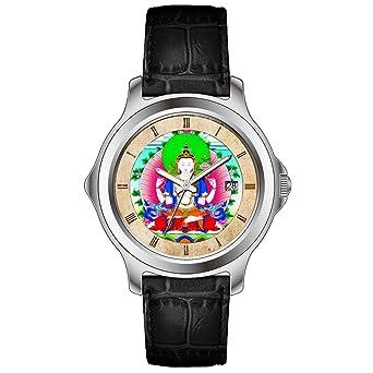 KSD personalizada personalizado regalo reloj hombres de moda negro ...