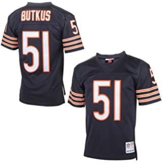 ... Amazon.com Chicago Bears Fan Shop Dick Butkus Chicago Bears Mitchell  Ness Replica Retired Player Jersey Nike NFL ... cdfa06daa