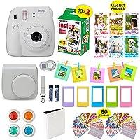 Fujifilm Instax Mini 9 Film Camera SMOKEY WHITE Instant...