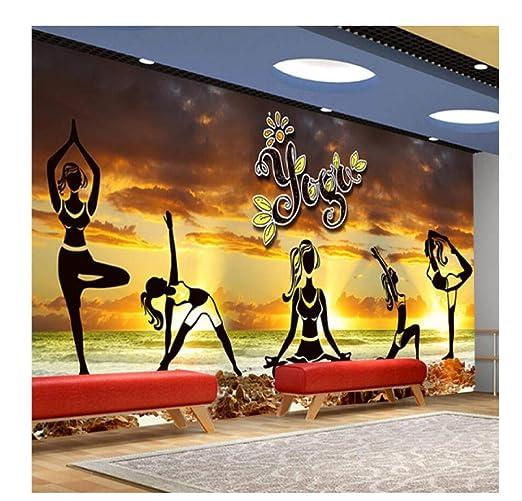 Papel Pintado Fotográfico Elegante Estética Yoga Cultura ...