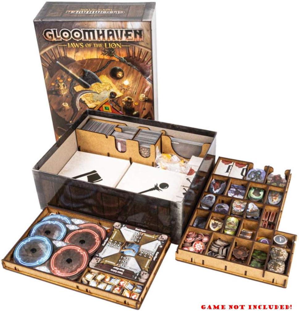 docsmagic.de Organizer Insert for Gloomhaven: Jaws of The Lion Box - Encarte: Amazon.es: Juguetes y juegos