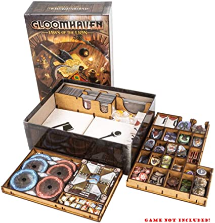 docsmagic.de Organizer Insert for Gloomhaven: Jaws of The Lion Box - Encarte: Amazon.es: Juguetes y juegos