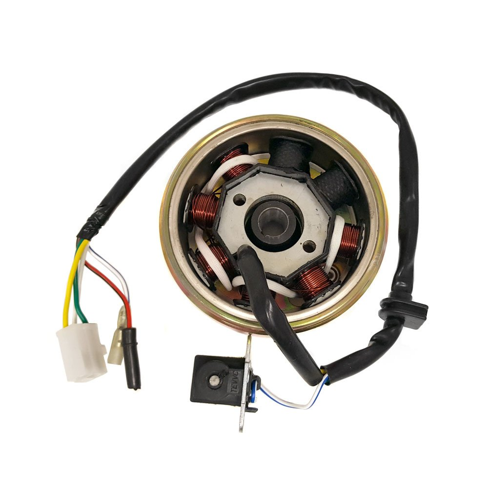 Flywheel Assembly for QMB139/GY6 50/100cc 4 Stroke