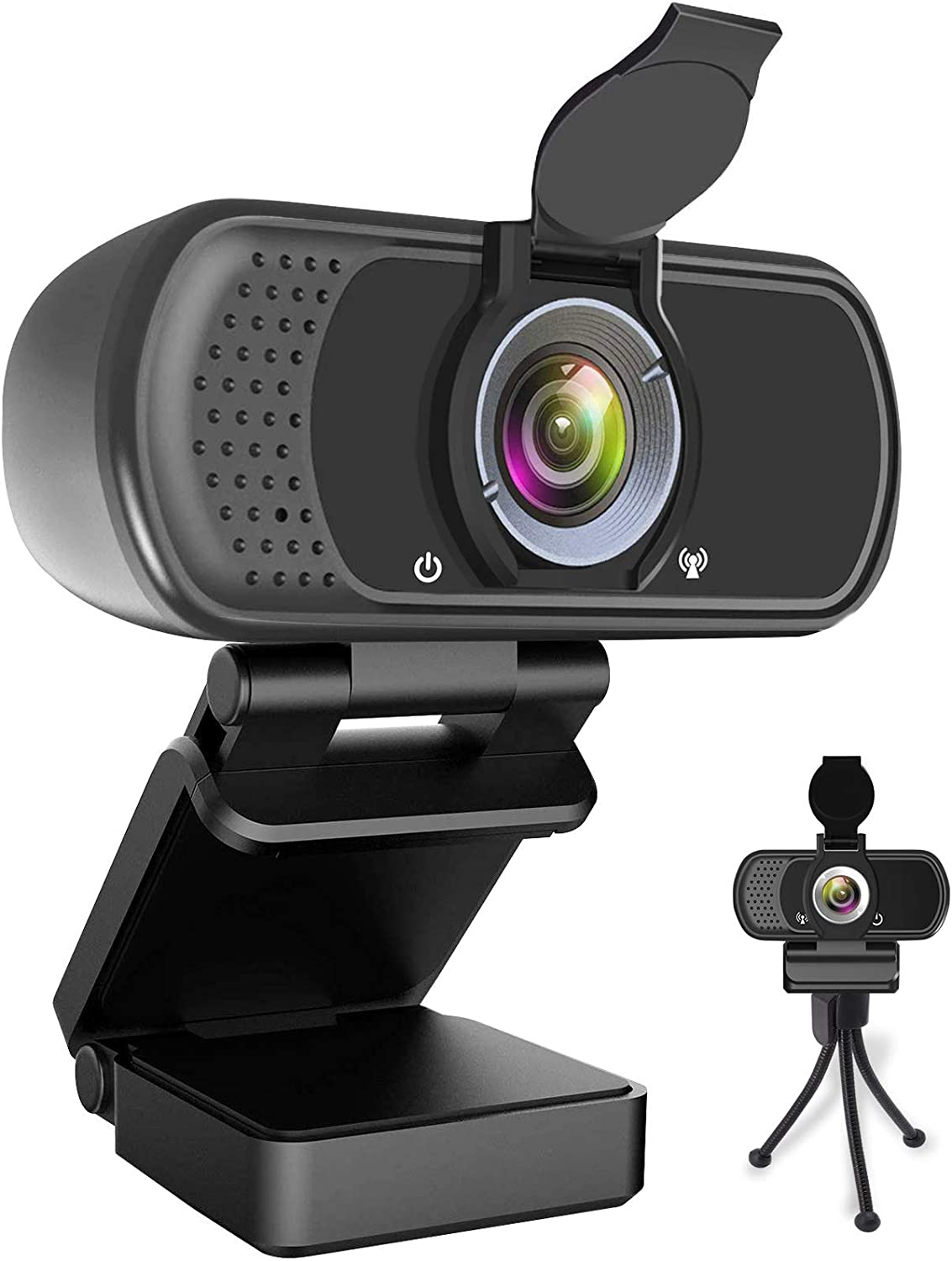 4MP HD USB Webcam with Microphone Computer Camera Plug /& Play for Desktop Laptop Streaming Webcam with 110/° Wide View Angle and Noise Reduction Mic