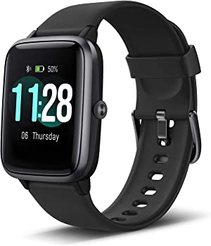 Letscom Smart Fitness Tracker with Heart Rate Monitor