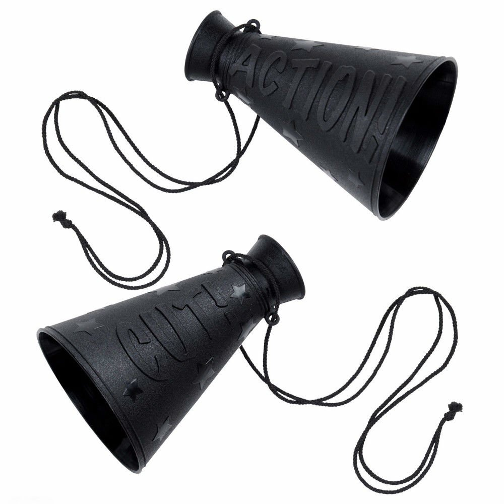 HOLLYWOOD Movie Themed Party Decoration Prop Mini DIRECTOR'S MEGAPHONE by Unbranded