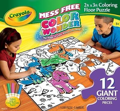 Crayola Color Wonder Floor Puzzle from Crayola