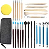 25pcs Ball Stylus Dotting Tools, Polymer Modeling Clay Sculpting Tools Set Rock Painting Kit for Sculpture Pottery