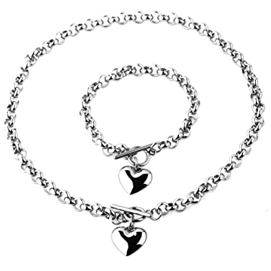 Image Unavailable. Image not available for. Color  Womens Stainless Steel  Silver ... f1beb2af4