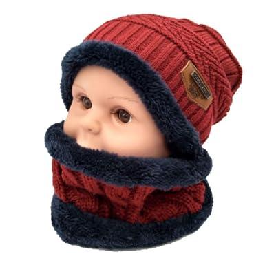 Jessie Jonah Gorro de bebé niños Bufanda Gorras para niño niña ...