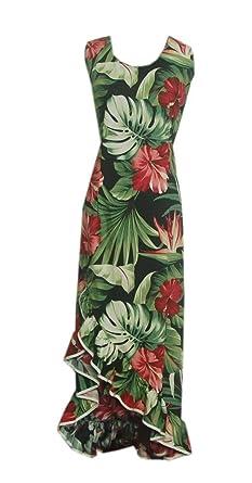 0ab1adc5b66 Jade Fashions Inc. Women s Black Bird Of Paradise Princess Hawaiian Dress -Black-Small