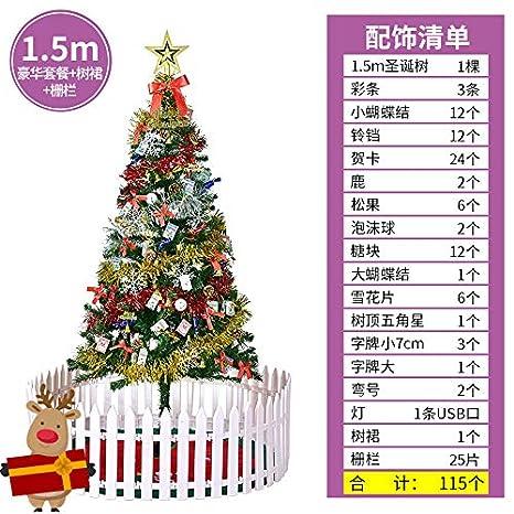 Albero Di Natale 6 Mt.Happylr Decorazione Albero Di Natale 1 5 Metri Di Set Pasto