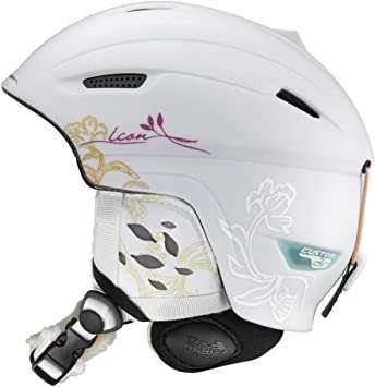 SALOMON Damen Skihelm Icon Origins Custom Air